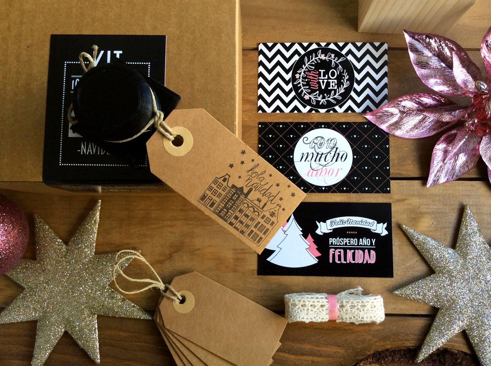 kit diy craft sello navidad hermanas bolena