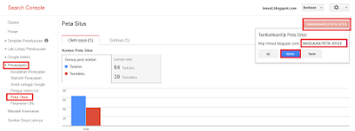 Kirim Peta Situs Webmaster Tools