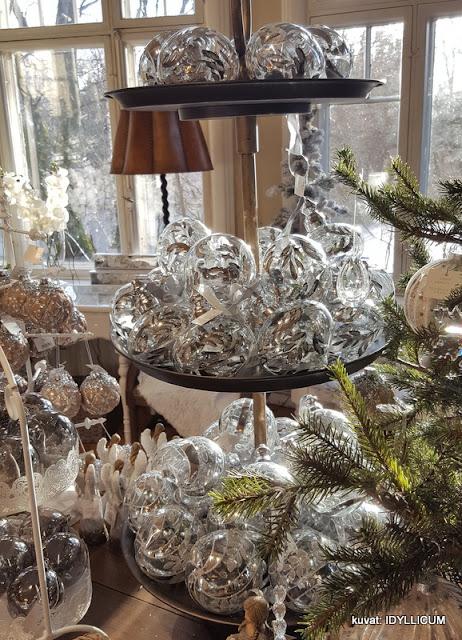 ihanat joulukoristeet Weiste Wanha Villa