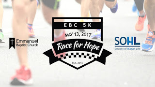 EBC 5K Race for Hope - May 13