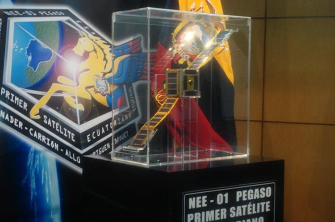Satelit Pegaso langgar serpihan roket S-14