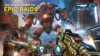 Shadowgun Legends Apk Mod OBB v0.4.3 Ulimited Ammo