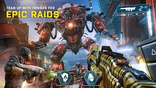 game dengan kualitas grafis dan gameplay yang seru pun semakin kaya bermunculan Shadowgun Legends Apk Mod v0.7.7 Ulimited Ammo + Data OBB for Android