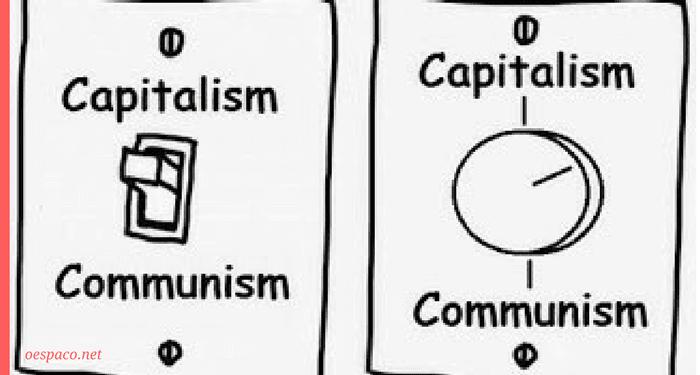 capitalismo e comunismo, entre o 8 e o 80, uma infinidade de numeros