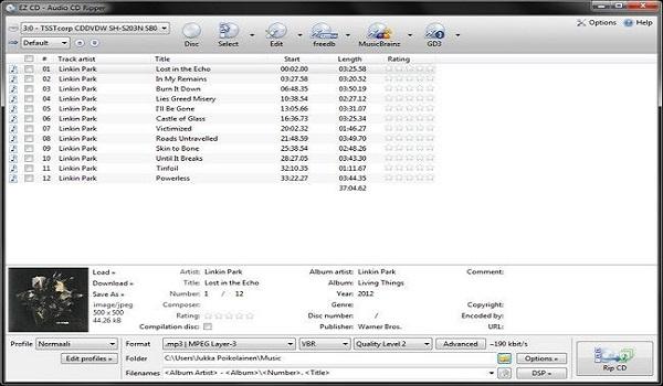 EZ CD Audio Converter Ultimate 7.1.5.1