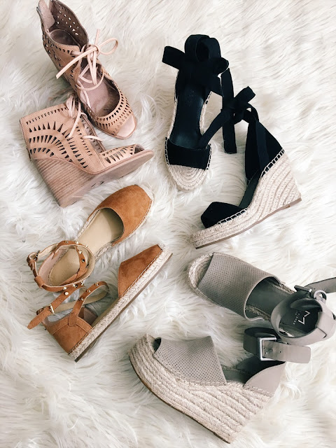 The 4 wedges and espadrilles you need for the summer - www.iamstyle--ish.com