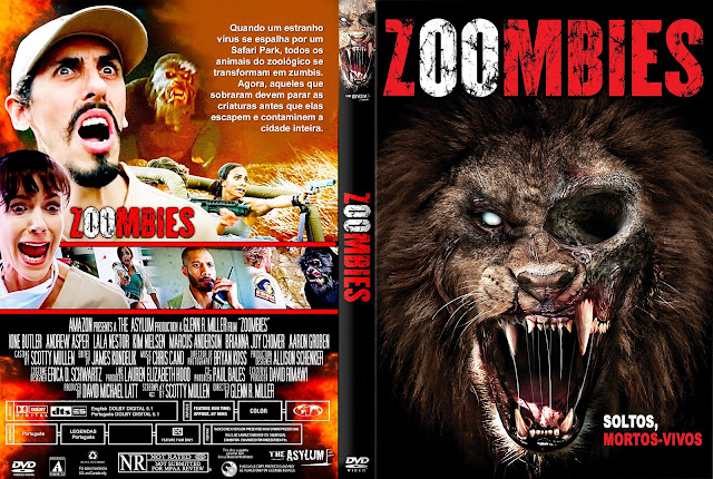 Capa DVD Zoombies