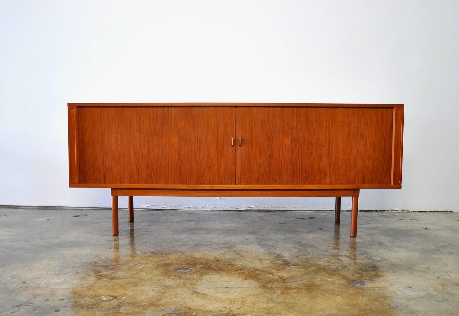 Select Modern Danish Modern Jens Quistgaard Teak Credenza