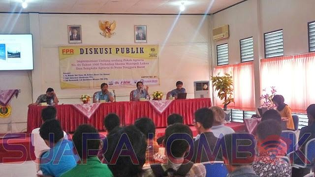Hari Tani Nasional, FPR NTB Gelar Diskusi Publik