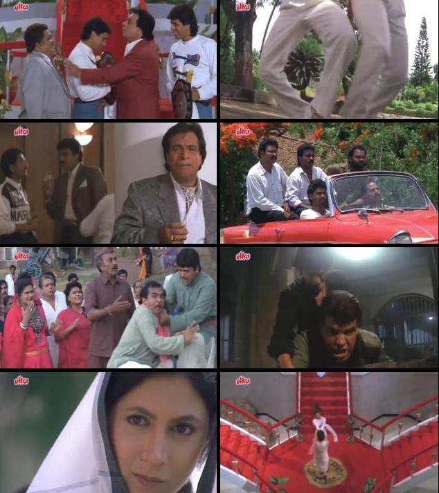 Aankhen 1994 Hindi 480p HDRip