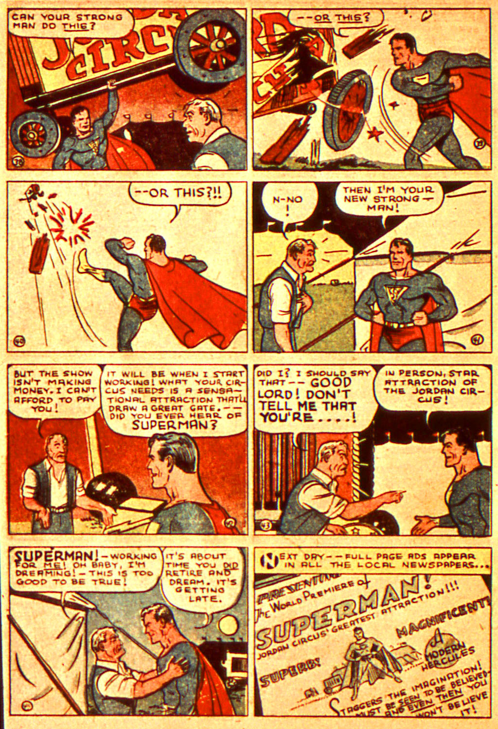 Read online Action Comics (1938) comic -  Issue #7 - 9