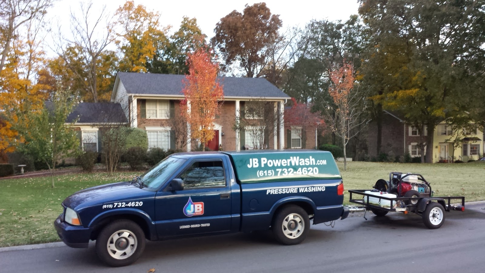 JB Power Wash is the Top Rated Pressure Washing Services Company in Nashville, Tennessee.