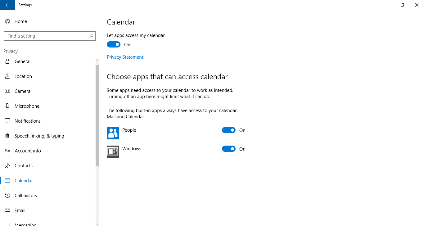 Cách ngăn không cho Windows apps truy cập ứng dụng riêng tư khi build Windows 10