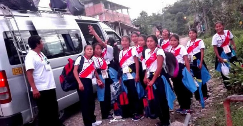 MINEDU: Estudiantes retornan a sus comunidades nativas por vía terrestre, aérea y fluvial luego de la final de los Juegos Deportivos Escolares - www.minedu.gob.pe