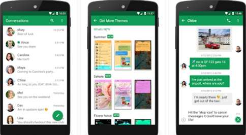 Aplikasi SMS Android Terbaik