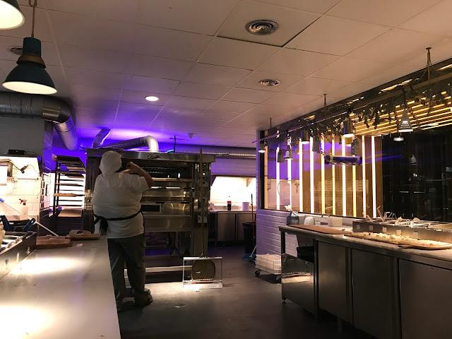 Horno restaurante Kilómetros de Pizza