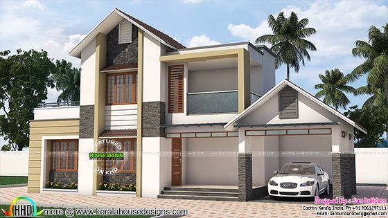 House remodeling 3d plan