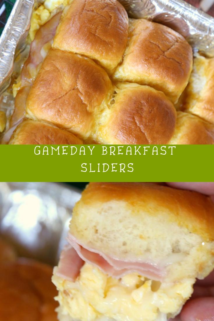 Gameday Breakfast Sliders Recipe