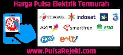 PulsaRejeki.Com Agen Pulsa Elektrik Online Termurah