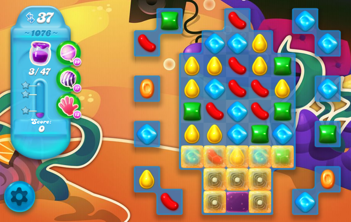 Candy Crush Soda Saga 1076