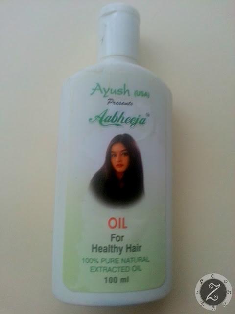 Ayush, Aabheeja, olej do włosów