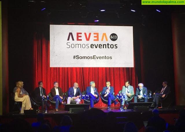 Santa Cruz de La Palma se promociona como un destino original y novedoso para el sector de eventos