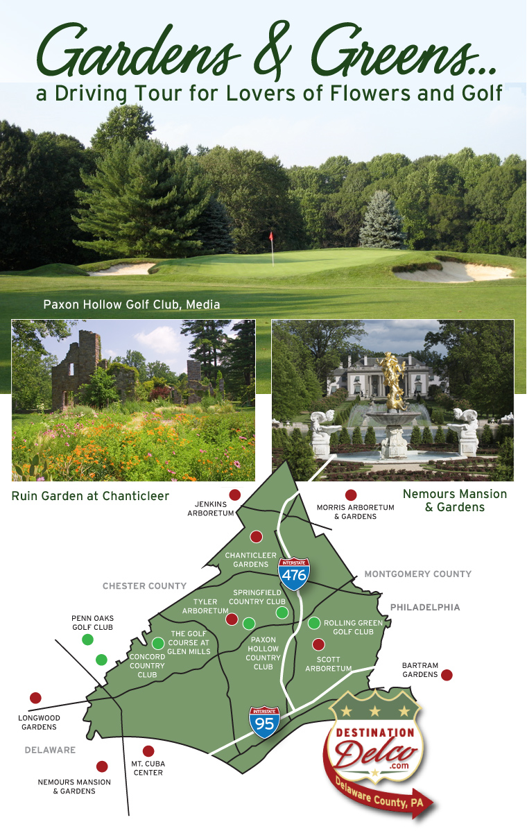 Destination Delco Is Not Only At The Heart Of The Regionu0027s Most Beautiful  Gardens U2013 Itu0027s Home To Some Of The Most Famous And Challenging Golf Courses  In The ...