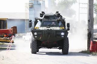 Cadilage Cage V-150 Commando versi Thailand