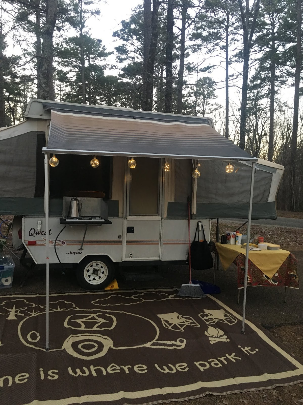 Replace Your Bag Awning on Your Pop Up Camper