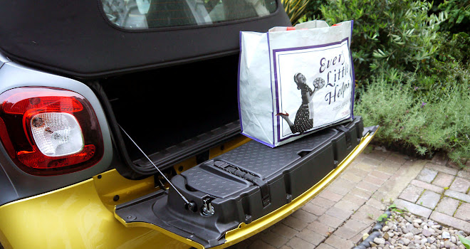 Smart ForTwo Cabrio narrow boot opening