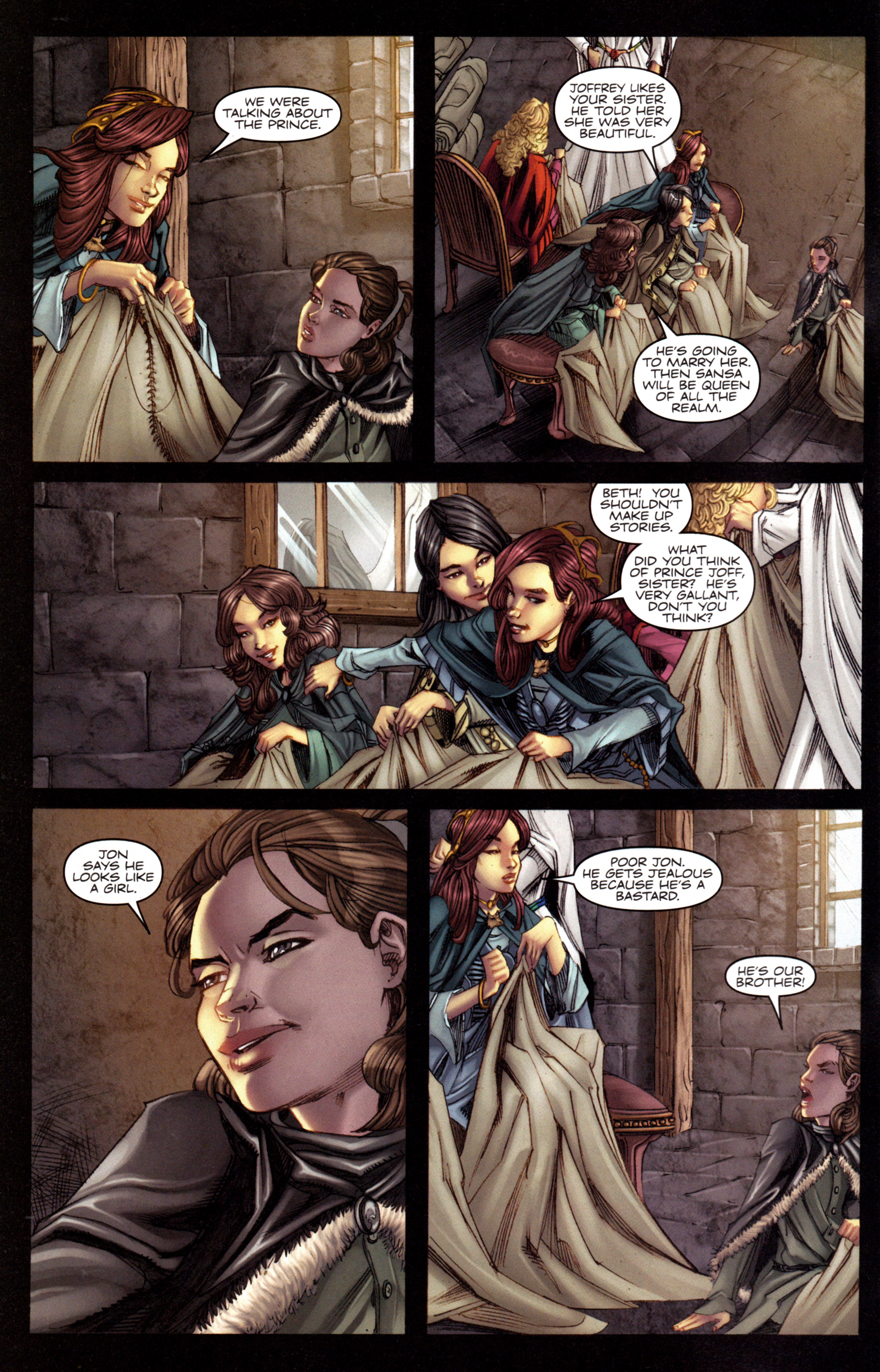 Read online A Game Of Thrones comic -  Issue #3 - 4