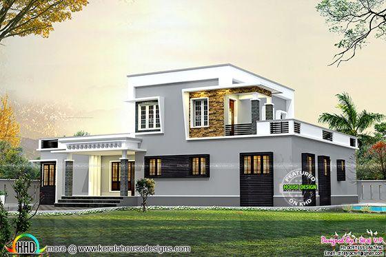 House corner view