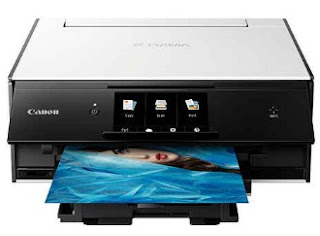 Simple color printer together with the character is everyone Canon PIXMA TS9020 Printer Driver Download