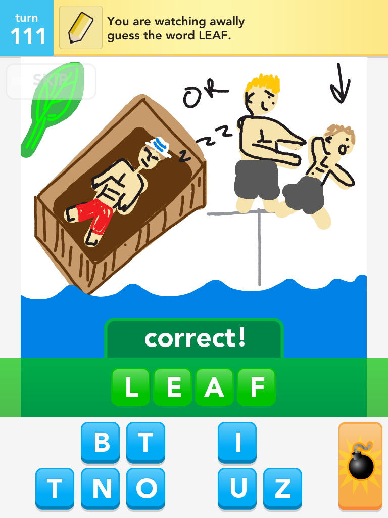 hight resolution of leif who i totally captured in drawsomething as you can see is bitter wants to know why he was voted out really you were 1 of 2 guys left