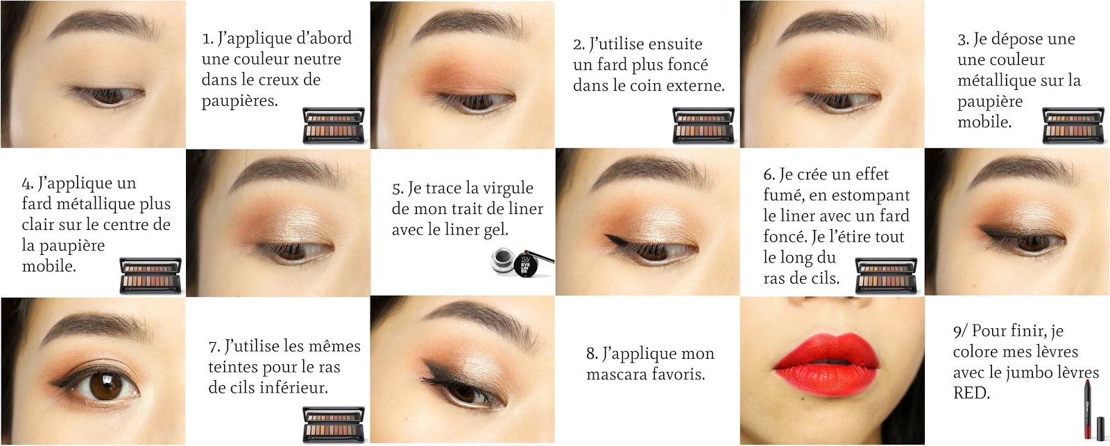 You Are Cosmetics | Un maquillage de soirée
