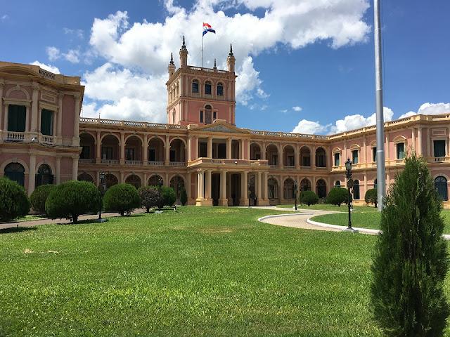 Palacio de gobierno, Asunción
