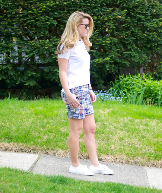 preppy women's outfit