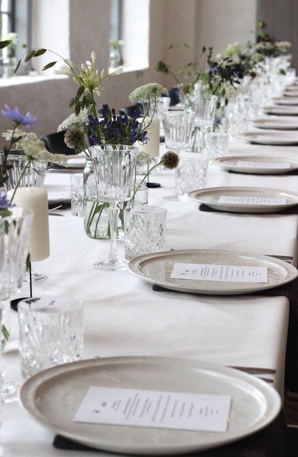 Table Setting, A Table Story, Naming Celebration, via scandinavianlovesong