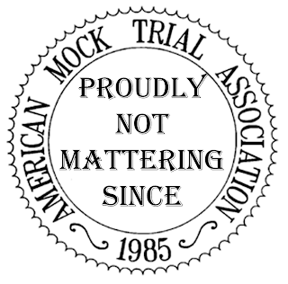 American Mock Trial Association Seal