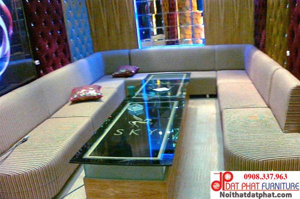 ghế sofa cho phòng karaoke diện tích nhỏ