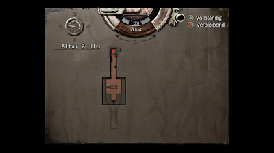 Location Map, Altar 2.UG, Resident Evil, HD Remaster, Jill Valentine