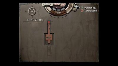 Location Map, Altar 2.UG, Resident Evil, HD Remaster, Jill Valentine
