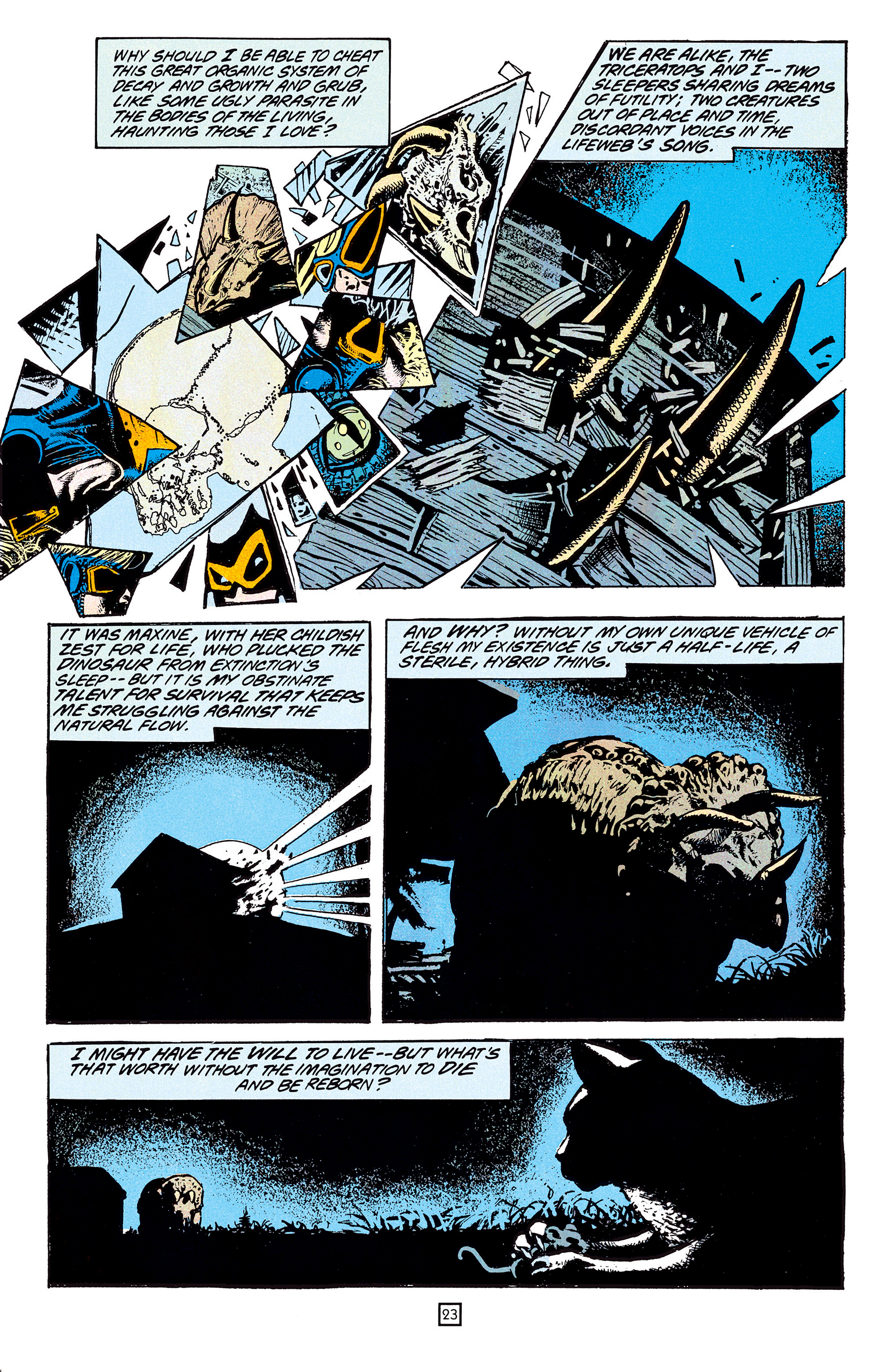 Read online Animal Man (1988) comic -  Issue #54 - 24