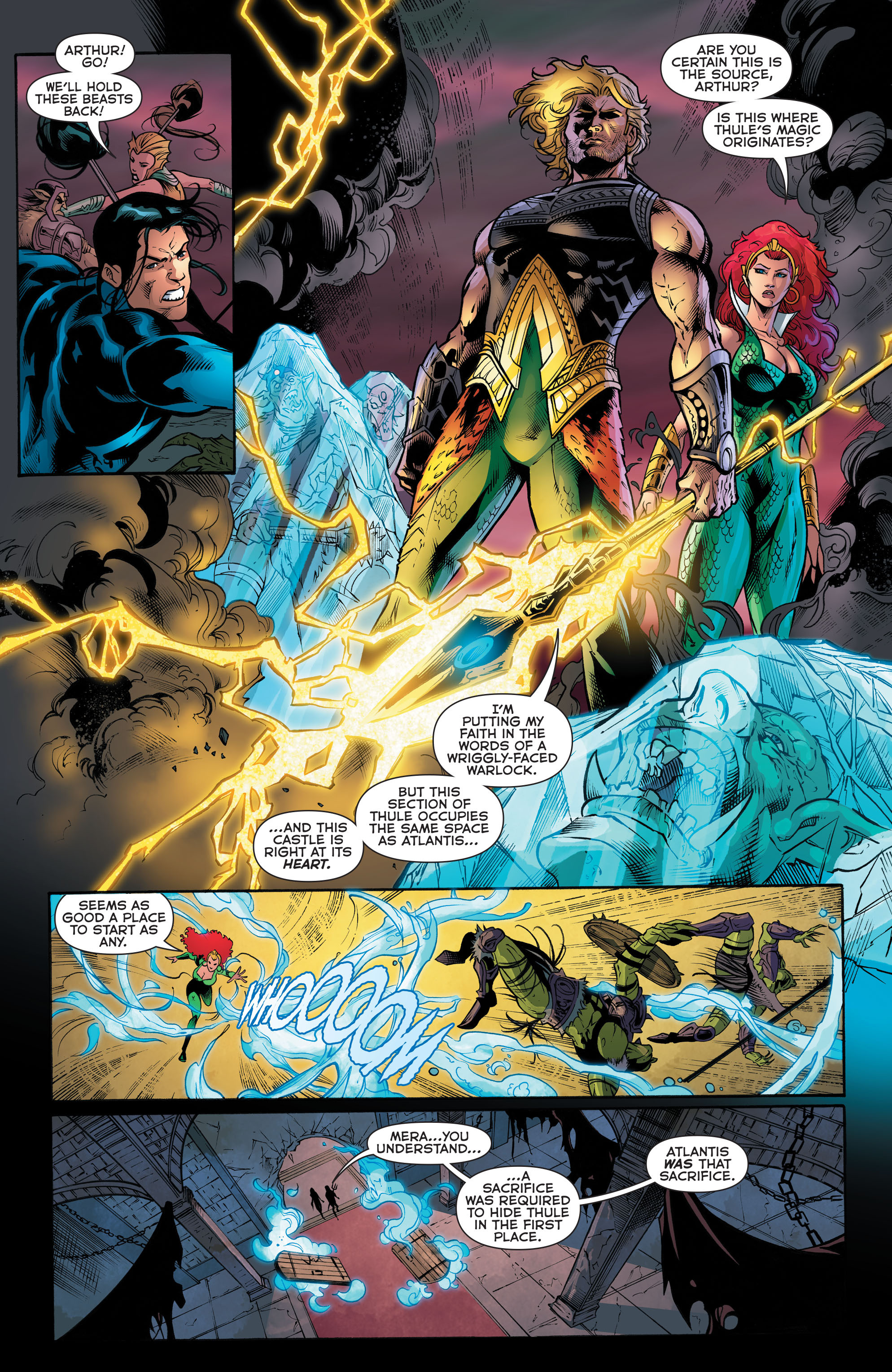 Read online Aquaman (2011) comic -  Issue #48 - 14
