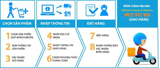 huong dan mua van phong pham online