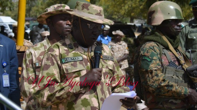 320 Nigerian Soldiers Drop Their Weapons, Voluntarily Quit From Military