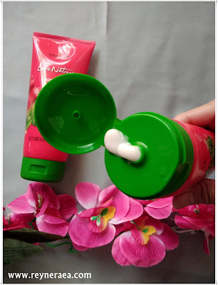 Love Nature Body Lotion Energising Mint & Raspberry dari oriflame