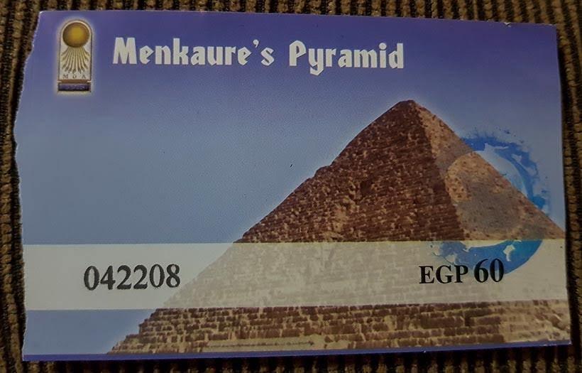 Pirâmide de Miquerinos - Diário de Bordo: 2 dias no Cairo