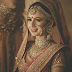 A Heavy Jewelery Indian Bridal Look
