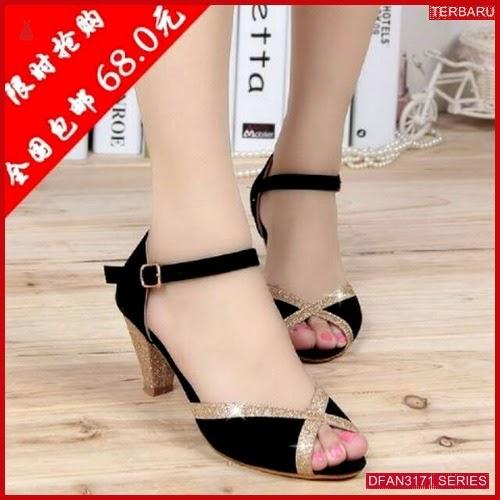 DFAN3171S40 Sepatu Ir 51 Hak Wanita Tahu Sol BMGShop